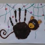 Handprint Monkey